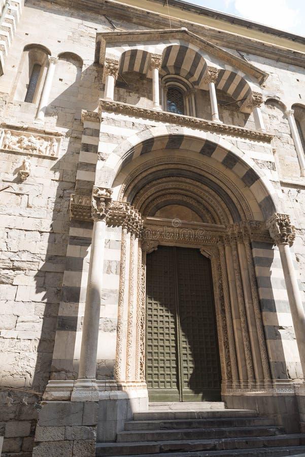 Καθεδρικός ναός SAN Lorenzo, στη Γένοβα στοκ φωτογραφία