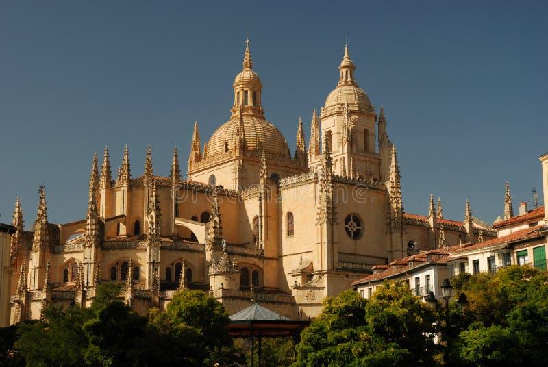 καθεδρικός ναός segovia στοκ εικόνες με δικαίωμα ελεύθερης χρήσης