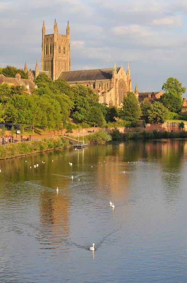 καθεδρικός ναός Worcester στοκ εικόνες