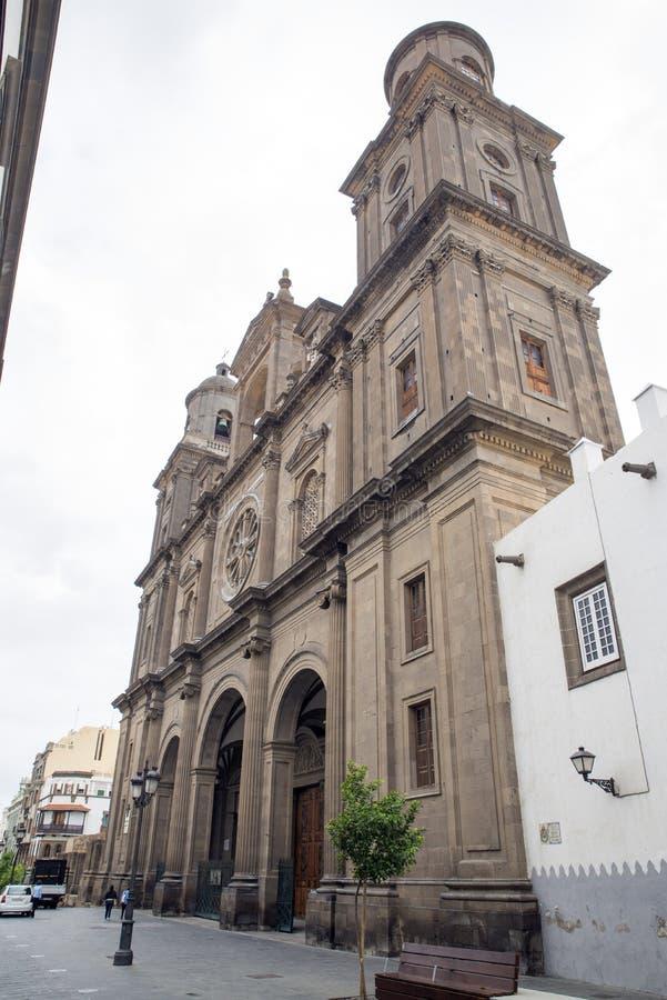 Καθεδρικός ναός Αγίου Ana στοκ φωτογραφία με δικαίωμα ελεύθερης χρήσης