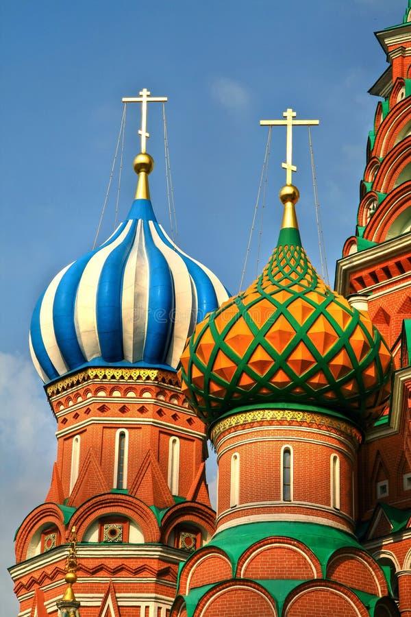 Καθεδρικός ναός Αγίου Basil´s, κόκκινη πλατεία, Μόσχα, Ρωσία στοκ εικόνες