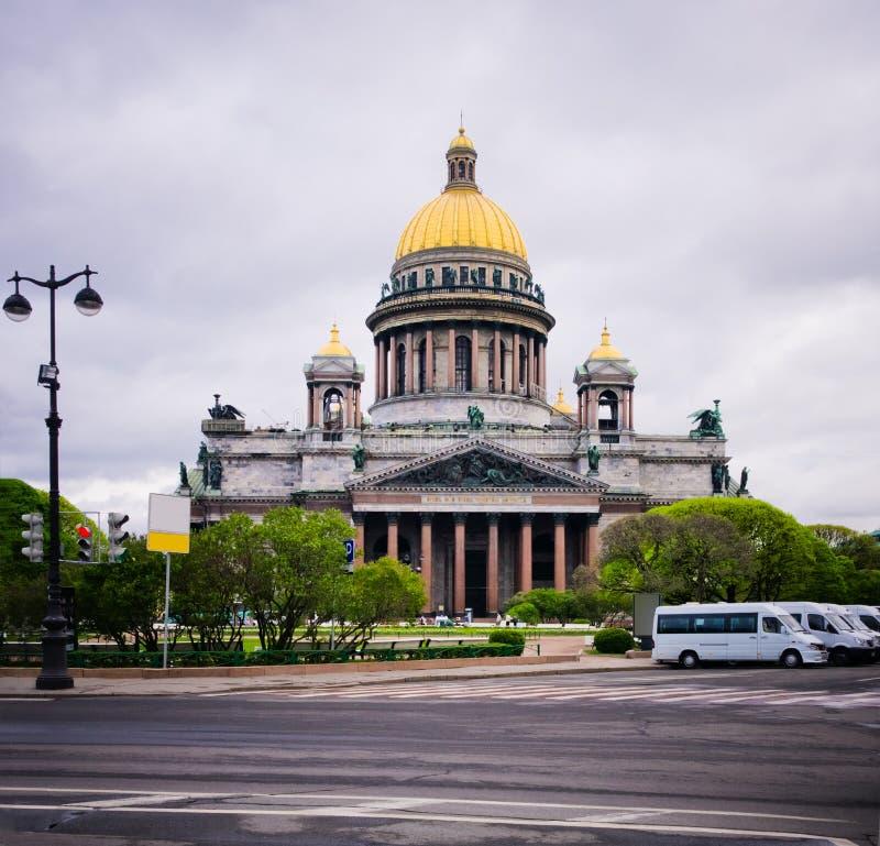 Καθεδρικός ναός Αγίου Isaac στη Αγία Πετρούπολη στοκ εικόνες