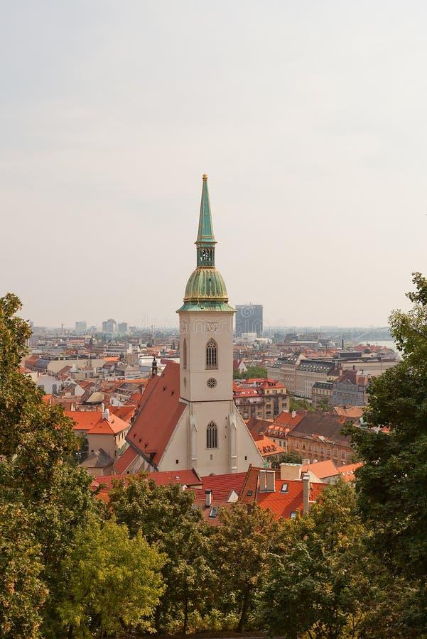 Καθεδρικός ναός Αγίου Martin (1452) Βρατισλάβα Σλοβακία στοκ φωτογραφία με δικαίωμα ελεύθερης χρήσης