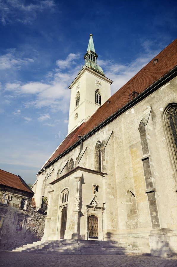 Καθεδρικός ναός Αγίου Martin, Μπρατισλάβα, Σλοβακία στοκ φωτογραφίες με δικαίωμα ελεύθερης χρήσης