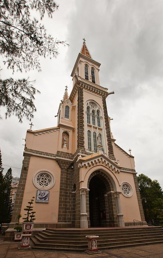 Καθεδρικός ναός Αγίου Philip (1905) στην πόλη του Ho Chi Minh, Βιετνάμ στοκ φωτογραφίες
