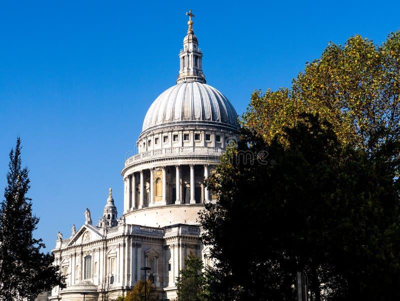 καθεδρικός ναός Λονδίνο Paul s ST στοκ εικόνες