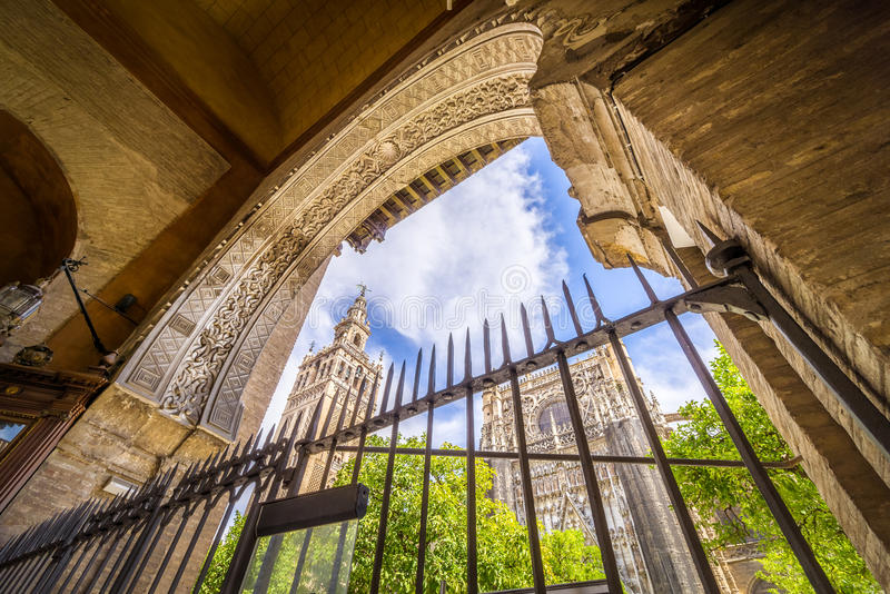 καθεδρικός ναός Σεβίλη στοκ εικόνες