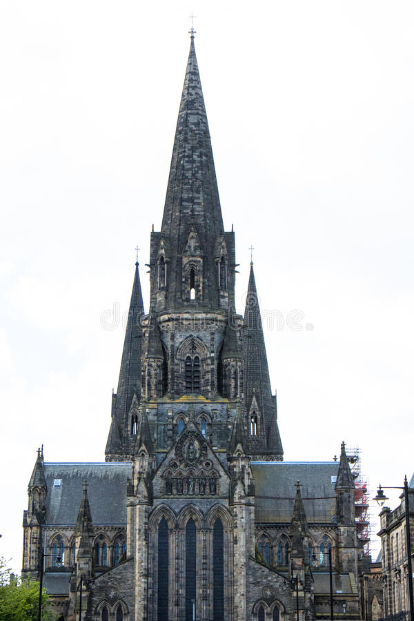 Καθεδρικός ναός στενός επάνω του Εδιμβούργου, Σκωτία στοκ φωτογραφία με δικαίωμα ελεύθερης χρήσης
