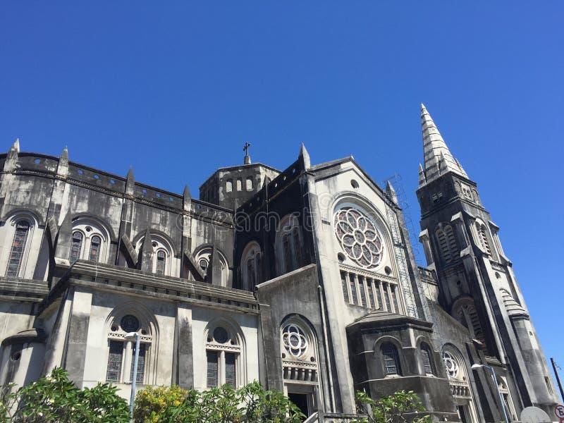 Καθεδρικός ναός στο Φορταλέζα στοκ εικόνες