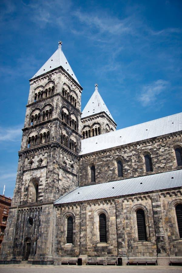 Καθεδρικός ναός στο Lund στοκ εικόνες με δικαίωμα ελεύθερης χρήσης