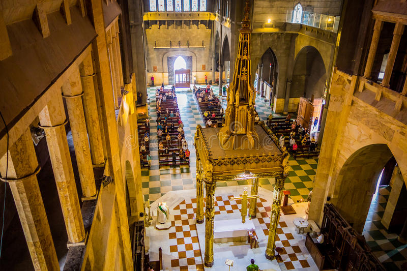 Καθεδρικός ναός στο Manizales, Κολομβία στοκ εικόνες με δικαίωμα ελεύθερης χρήσης