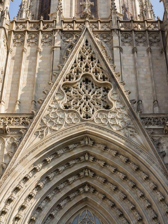 Καθεδρικός ναός της Βαρκελώνης στοκ φωτογραφία