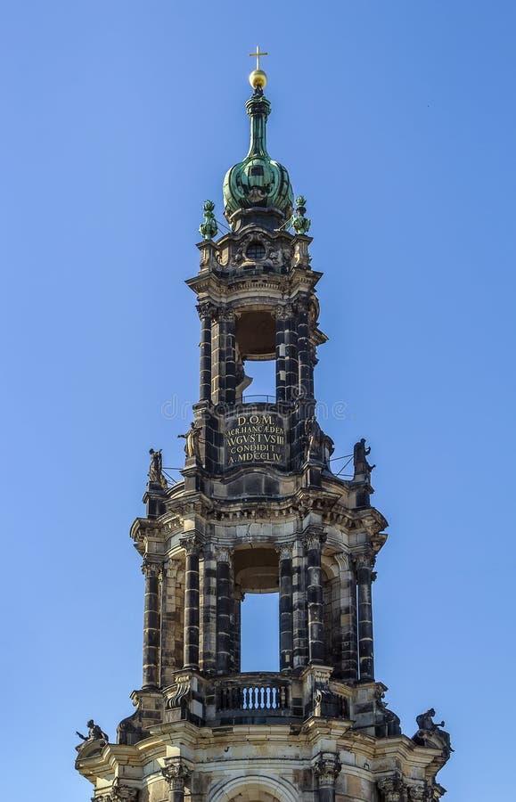 Καθεδρικός ναός της Δρέσδης, Γερμανία στοκ εικόνες