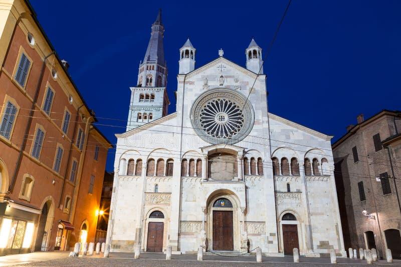 Καθεδρικός ναός της Μοντένας Αιμιλία-Ρωμανία Ιταλία στοκ φωτογραφίες με δικαίωμα ελεύθερης χρήσης