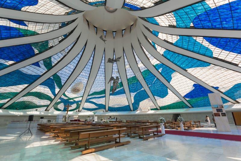 Καθεδρικός ναός της Μπραζίλια - Brasília - DF - Βραζιλία στοκ φωτογραφίες