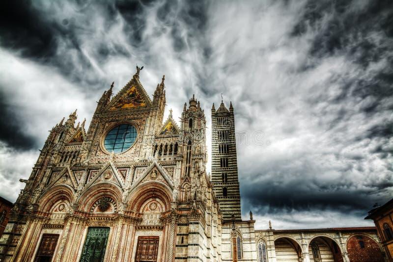 Καθεδρικός ναός της Σάντα Μαρία Assunta στη Σιένα στοκ φωτογραφίες