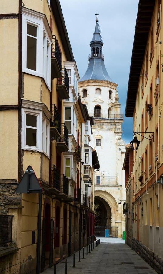 Καθεδρικός ναός της Σάντα Μαρία de Vitoria Vitoria-Gasteiz, Ισπανία στοκ φωτογραφία με δικαίωμα ελεύθερης χρήσης