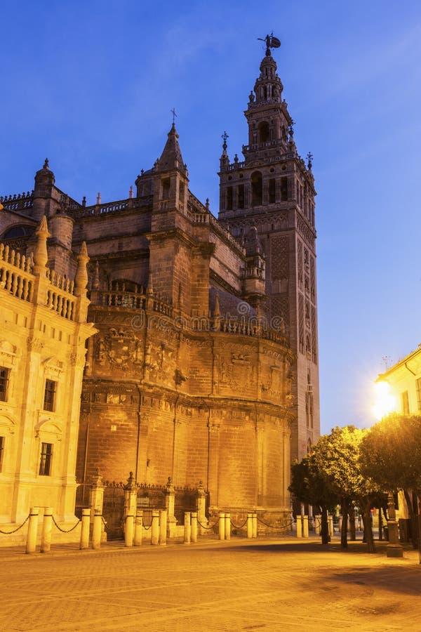 Καθεδρικός ναός της Σεβίλης στοκ φωτογραφίες