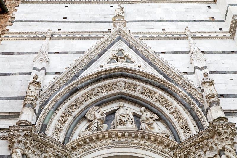 Καθεδρικός ναός της Σιένα, Σιένα, Τοσκάνη, Ιταλία στοκ εικόνες με δικαίωμα ελεύθερης χρήσης