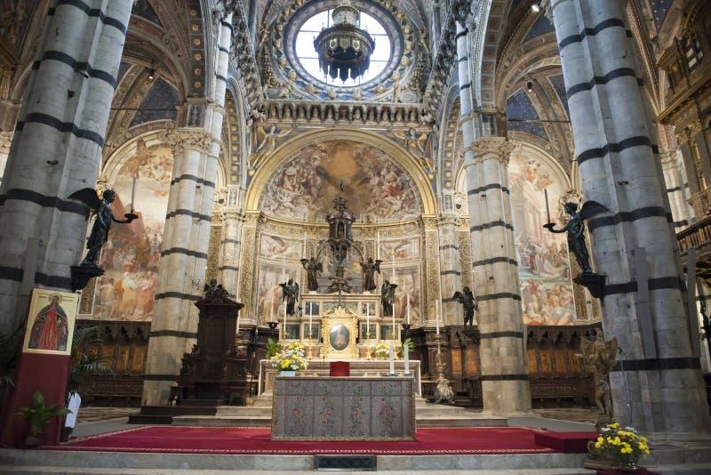 Καθεδρικός ναός της Σιένα στοκ φωτογραφίες με δικαίωμα ελεύθερης χρήσης