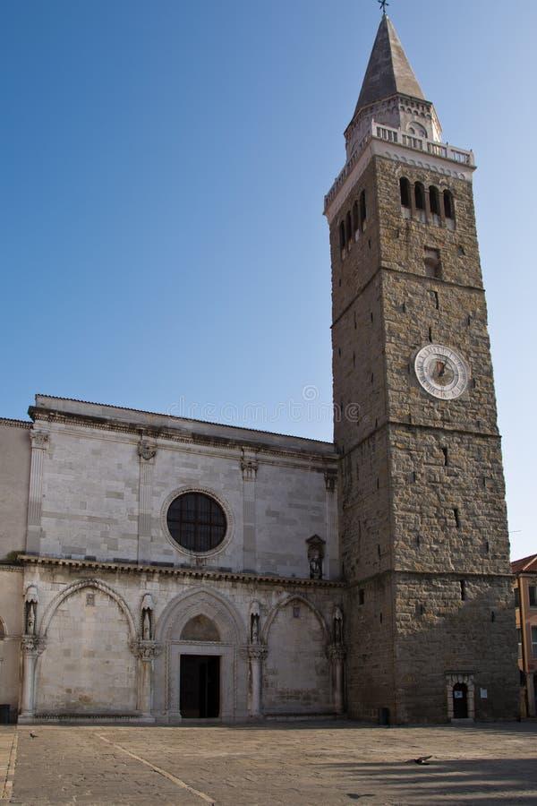 Καθεδρικός ναός της υπόθεσης, Koper, Σλοβενία στοκ φωτογραφίες με δικαίωμα ελεύθερης χρήσης