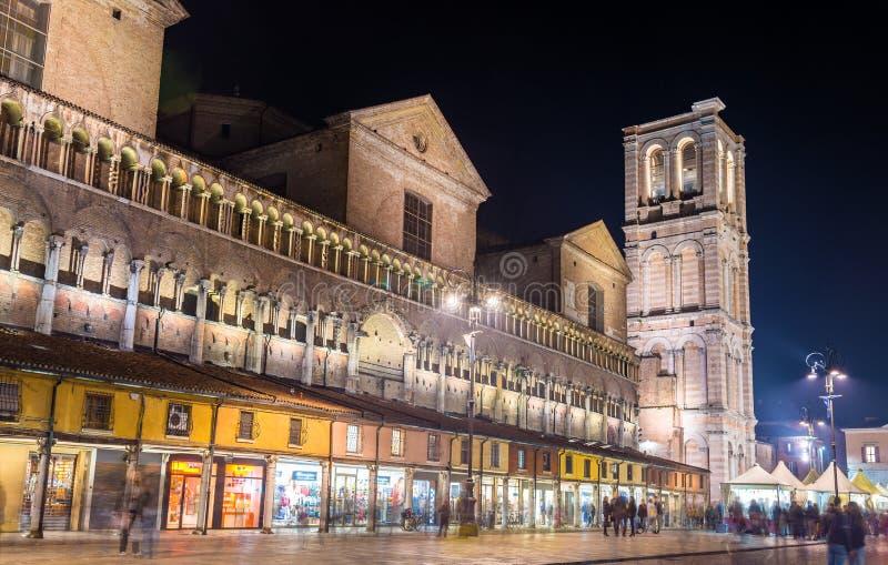 Καθεδρικός ναός της φερράρα του SAN Giorgio - Ιταλία στοκ φωτογραφία
