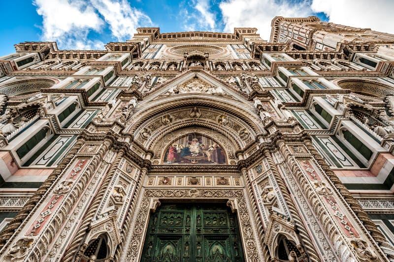 Καθεδρικός ναός της Φλωρεντίας στην Ιταλία στοκ εικόνες