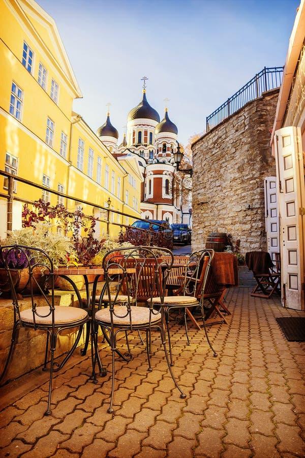 Καθεδρικός ναός του Αλεξάνδρου Nevsky στο Ταλίν, Εσθονία στοκ φωτογραφίες με δικαίωμα ελεύθερης χρήσης
