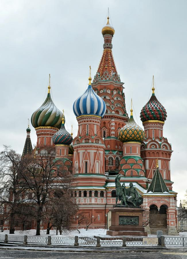 Καθεδρικός ναός του βασιλικού Αγίου, Μόσχα στοκ φωτογραφία