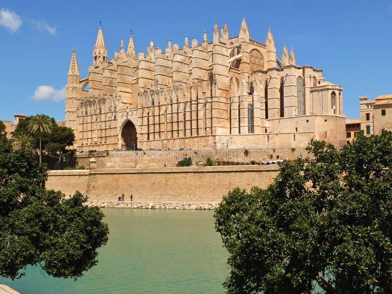 Καθεδρικός ναός του Λα Seu Μαγιόρκα στοκ εικόνα με δικαίωμα ελεύθερης χρήσης