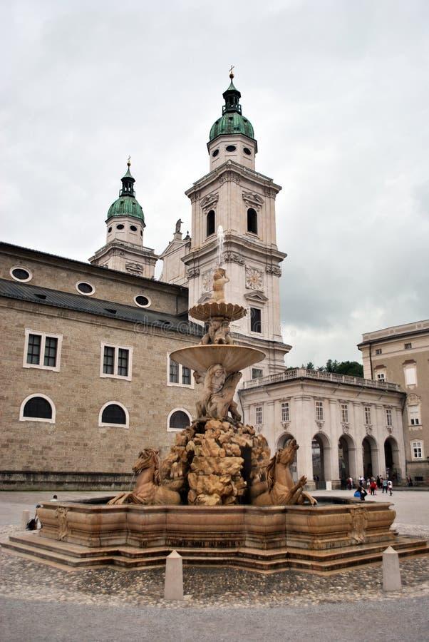 Καθεδρικός ναός του Σάλτζμπουργκ στοκ φωτογραφίες με δικαίωμα ελεύθερης χρήσης