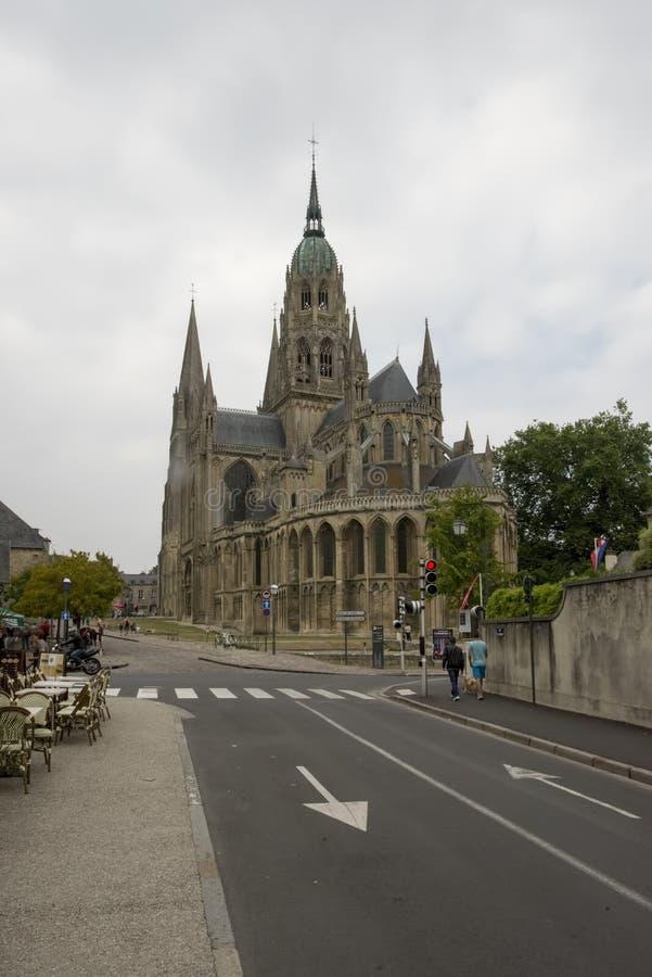 Καθεδρικός ναός του Bayeux, Γαλλία στοκ φωτογραφίες