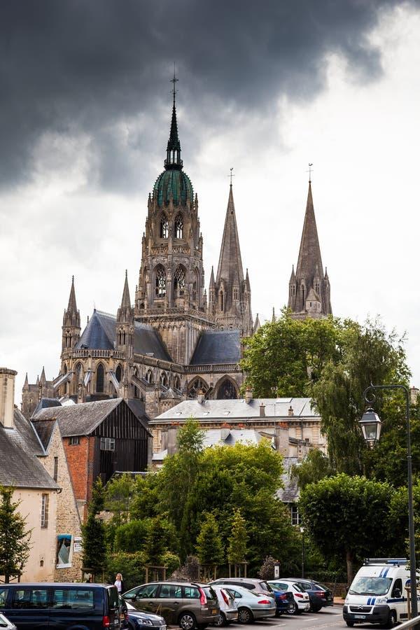Καθεδρικός ναός του Bayeux στοκ εικόνα