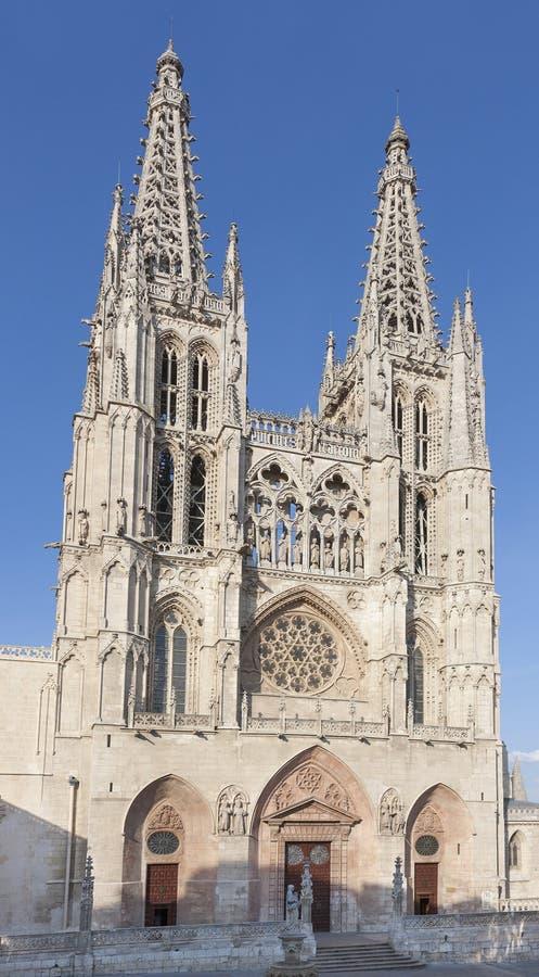 Καθεδρικός ναός του Burgos, Ισπανία στοκ εικόνες