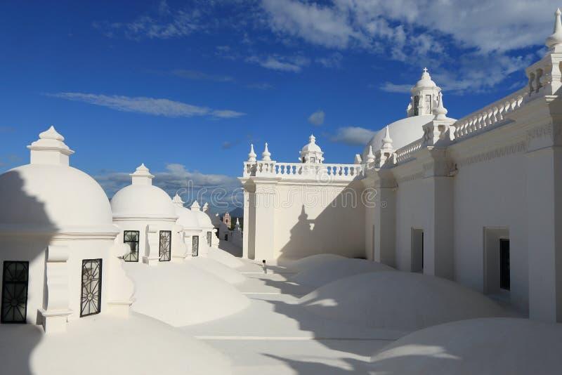 Καθεδρικός ναός του Leon, Νικαράγουα στοκ εικόνες