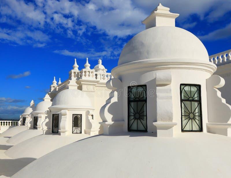 Καθεδρικός ναός του Leon, Νικαράγουα στοκ φωτογραφία με δικαίωμα ελεύθερης χρήσης
