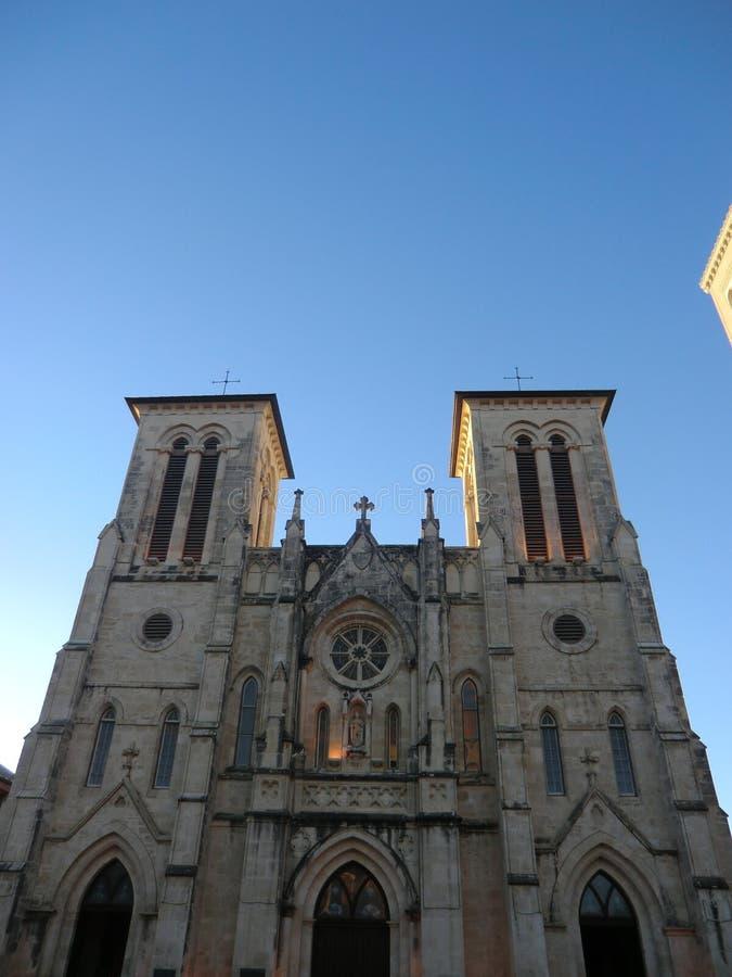 Καθεδρικός ναός του SAN Fernando στο San Antonio στοκ εικόνες με δικαίωμα ελεύθερης χρήσης