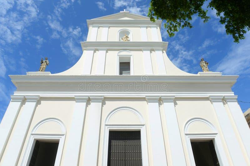 Καθεδρικός ναός του San Juan Bautista, San Juan, Πουέρτο Ρίκο στοκ φωτογραφία