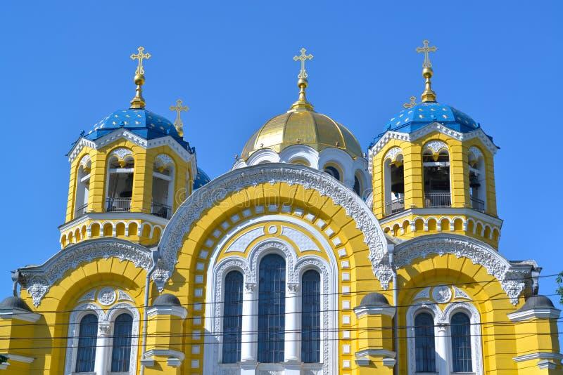 Καθεδρικός ναός του ST Βλαντιμίρ στο Κίεβο στοκ εικόνα