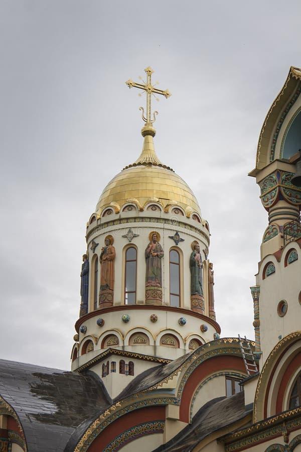 Καθεδρικός ναός του ST Βλαντιμίρ s στο Sochi, Ρωσία στοκ φωτογραφία