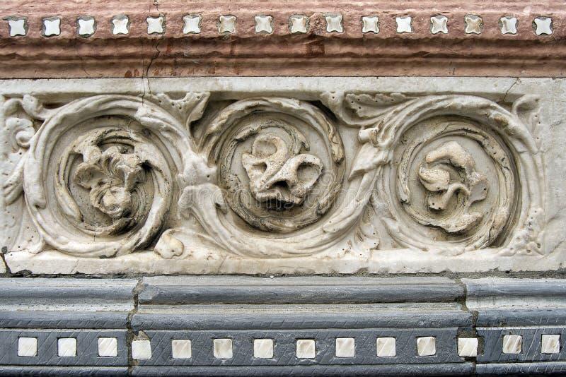Καθεδρικός ναός του ST Lawrence - Γένοβα Ιταλία στοκ φωτογραφία
