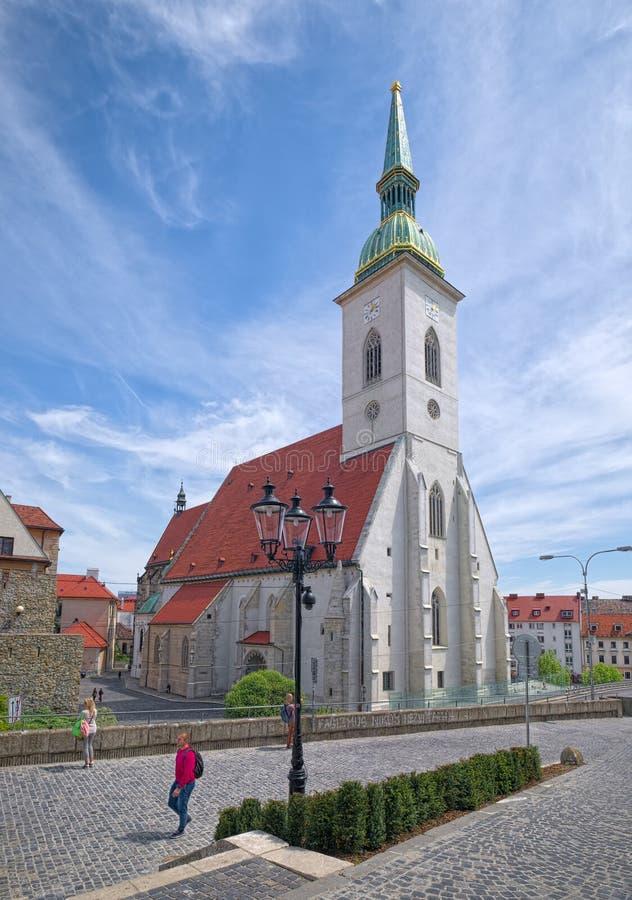 Καθεδρικός ναός του ST Martin ` s, Μπρατισλάβα στοκ φωτογραφίες με δικαίωμα ελεύθερης χρήσης