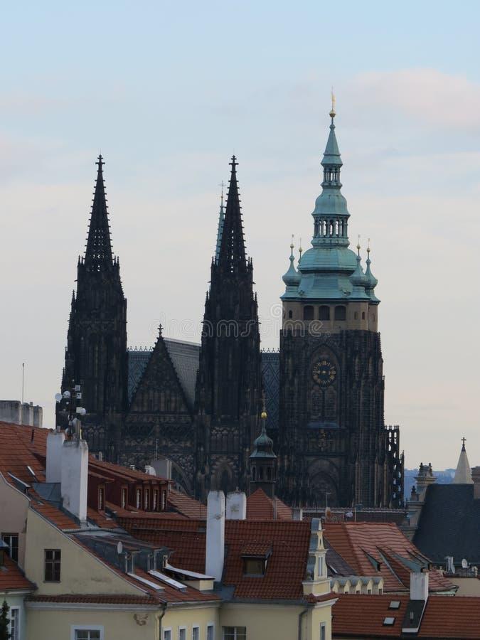 Καθεδρικός ναός του ST Vitus στην Πράγα στοκ εικόνες