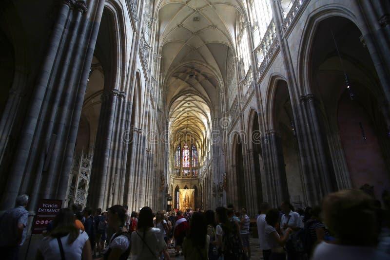 Καθεδρικός ναός του ST Vitus στοκ εικόνες με δικαίωμα ελεύθερης χρήσης