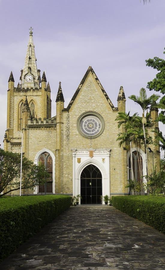 Καθεδρικός ναός τριάδας στο λιμένα - - Ισπανία στοκ φωτογραφίες