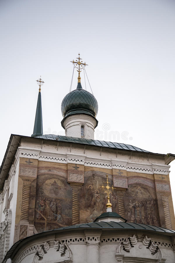 Καθεδρικός ναός Χριστού ο λυτρωτής στο Ιρκούτσκ, Ρωσική Ομοσπονδία στοκ φωτογραφίες με δικαίωμα ελεύθερης χρήσης
