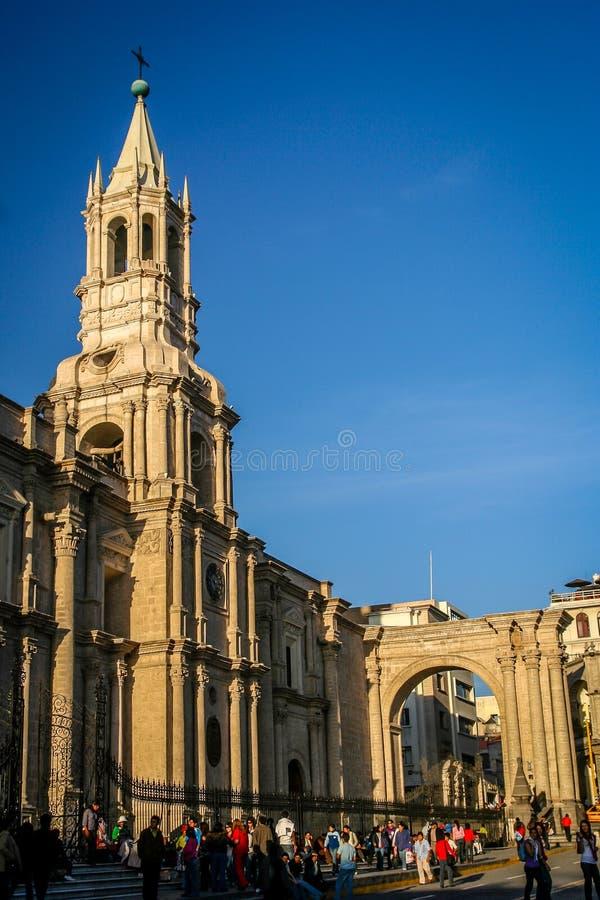 Καθεδρικός ναός Arequipa στοκ φωτογραφία