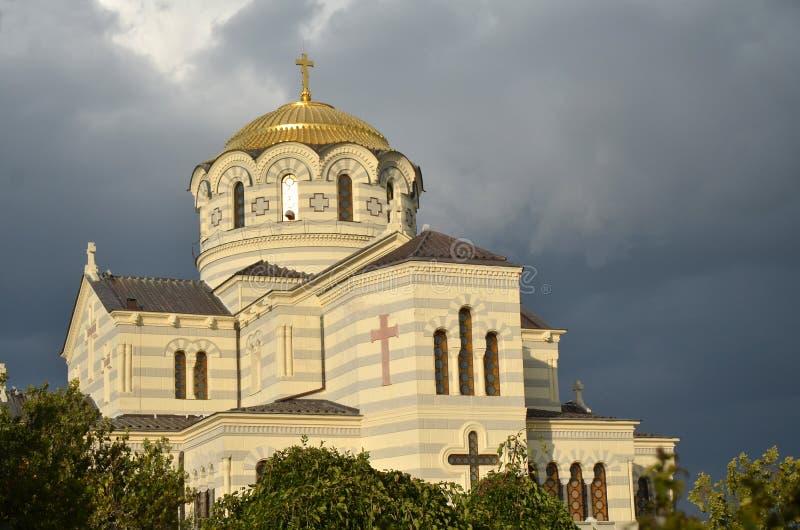 Καθεδρικός ναός Chersonesus στοκ φωτογραφία