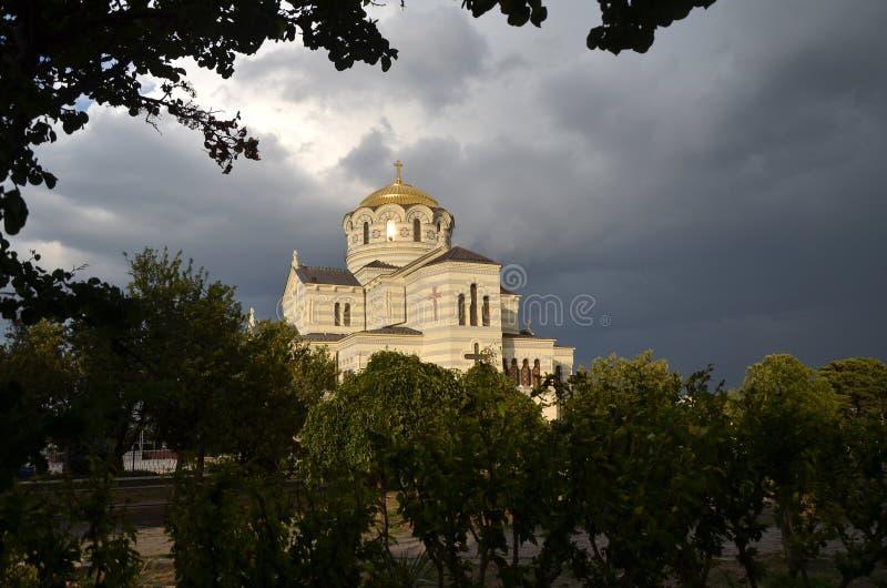 Καθεδρικός ναός Chersonesus στοκ φωτογραφία με δικαίωμα ελεύθερης χρήσης