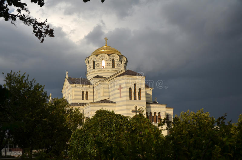 Καθεδρικός ναός Chersonesus στοκ φωτογραφίες με δικαίωμα ελεύθερης χρήσης